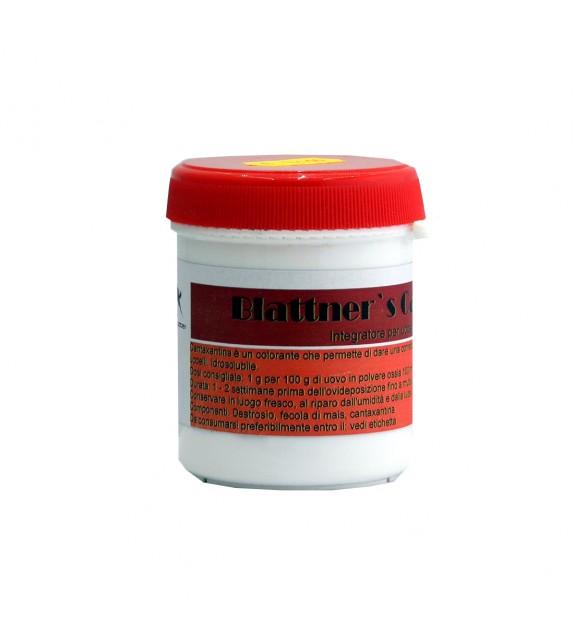 Colorante naturale rosso intensivo - Canthaxantin - Blattner